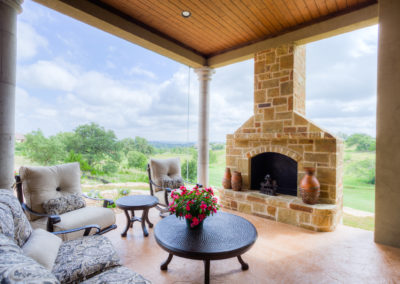 Smith Outdoor Fireplace